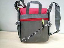 Спортивная сумка-барсетка через плечо 5 отделов, фото 3