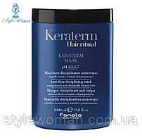 Fanola Keraterm Маска для ослабленных волос с маслом ши, макадамии и кератином ,1000мл