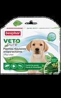 Beaphar BIO Spot on 3 пипетки - натуральные противопаразитарные капли для щенков (15611)