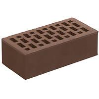 Кирпич облицовочный М150 СБК коричневый какао