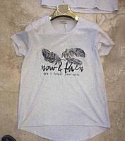 Производство Турция Практичная женская футболка Размеры М  Л  ХЛ