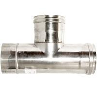 Тройник нержавеющая сталь 87 Ф150 мм