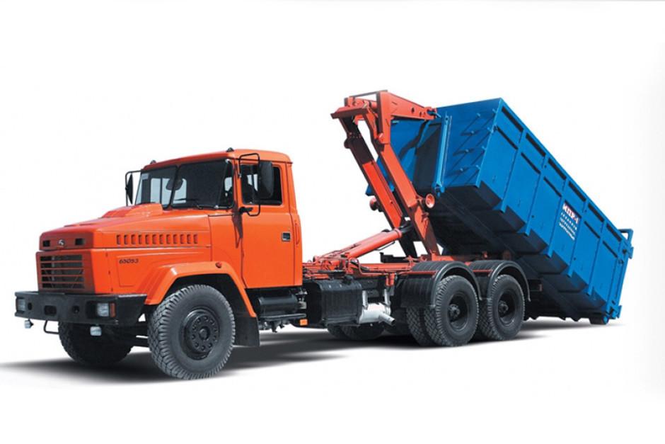 Автомобиль-мусоровоз КрАЗ 65053
