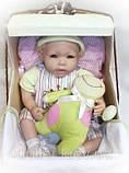 Лялька в колясці. Кевін. Дихаючий пупс., фото 2