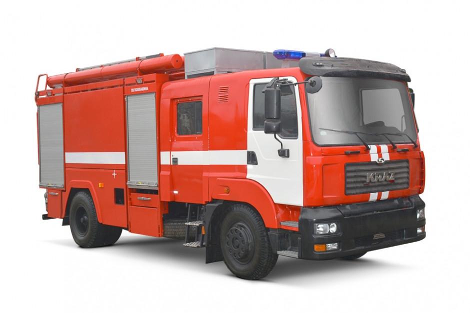 Пожежна автоцистерна КрАЗ 5401Н2