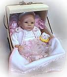 Лялька в колясці. Селена. Дихаючий пупс., фото 2