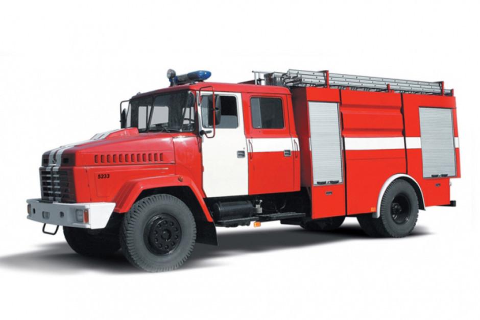 Пожежна автоцистерна КрАЗ-5233