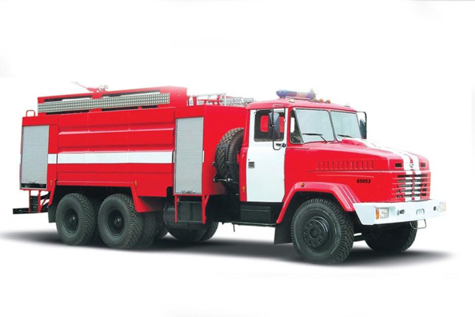 Пожежна автоцистерна КрАЗ 65053