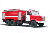 Пожарная автоцистерна КрАЗ 65053