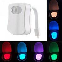 Подсветка для унитаза LED LightBowl 8 цветов с датчиком движения