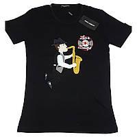 Мужская футболка Dolce&Gabbana черная