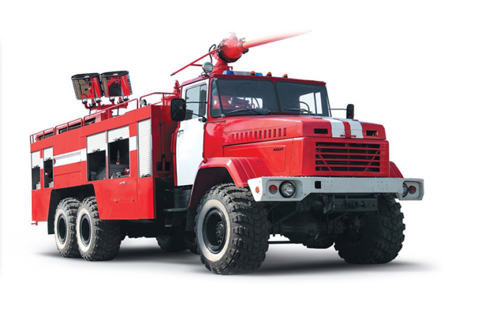 Пожежний автомобіль КрАЗ 63221