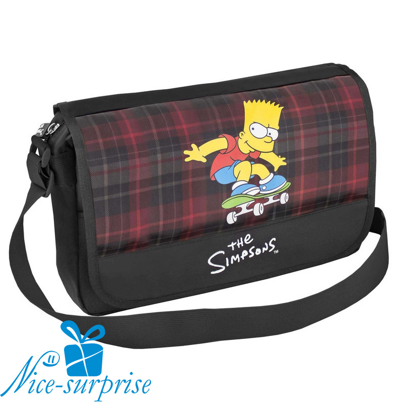 3663b1cd709d Школьная сумка через плечо CFS SI08802 The Simpsons - Интернет-магазин  подарков и сувениров Nice