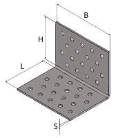 Уголок крепежный Kolchuga 80x80x80x2 мм