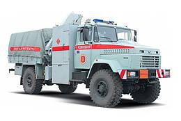 Специальный автомобиль КрАЗ 5233ВЕ Сапер