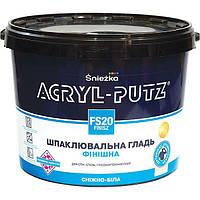 Шпаклевка Sniezka Acryl-Putz финиш 17 кг