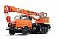 Автокран КрАЗ 65053\63221