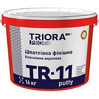 Шпаклевка Triora TR-11 putty 16 кг