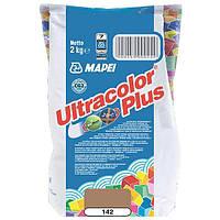 Затирка Mapei Ultracolor Plus 142 коричневая 2 кг