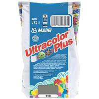 Затирка Mapei Ultracolor Plus 113 серая 5 кг