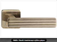 Дверная ручка Metal-bud   Malibu бронза