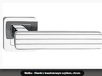 Дверная ручка Metal-bud  Malibu хром