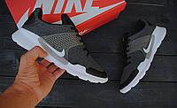 Мужские кроссовки Nike Air Presto 2017 🔥 (Найк Аир Престо) черно-серые