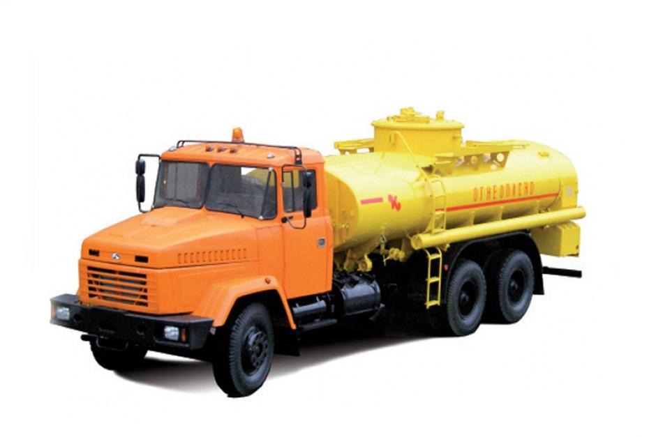 Автоцистерна для нафтопродуктів КрАЗ 65053\6322