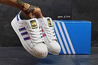 Кроссовки Adidas Superstar женские, белые