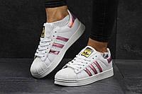 Женские кроссовки Адидас Суперстар, белые Adidas Superstar