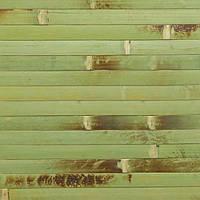 Обои бамбуковые LZ-0804Е 17 мм 0.9 м зеленые обожженные