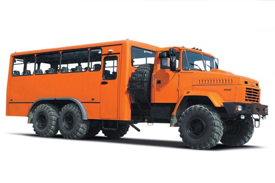 Автомобиль-фургон КрАЗ 63221