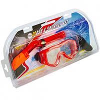 Набор для плавания ZEL ZP-25128-SIL маска + трубка