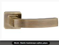 Дверная ручка  Metal-bud Mondo бронза