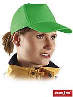 Бейсболка светло-зеленая оптом (кепка оптом)
