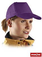 Бейсболка фиолетовая оптом (кепка оптом)