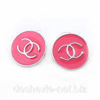 Серьги розовые женские 013SRs-d-pink