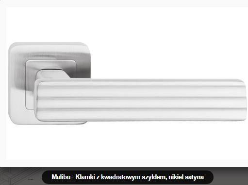 Дверная ручка Metal-bud Malibu никель-сатин