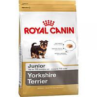 Royal Canin Junior Yorkshire Terrier (Юниор Йоркшир терьер), корм для щенков (до 10 месяцев)