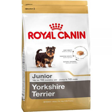 Royal Canin Junior Yorkshire Terrier (Юниор Йоркшир терьер), корм для щенков (до 10 месяцев), фото 2