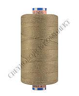 Нитка армированная джинсовая № 30, св.коричневый, 300 м, 0287