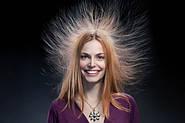 Если волосы сильно магнитятся.