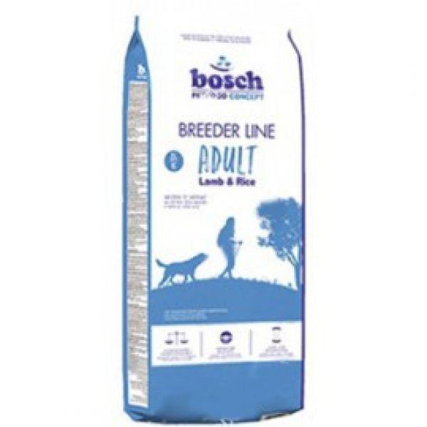 Bosch Breeder Adult (Бош Бридер Эдалт), корм для собак, ягнёнок с рисом, 20 кг
