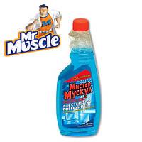 "Средство для мытья стекол и зеркал ТМ ""Mr.Мускул"" (запаска), 500ml"