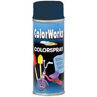 Аэрозоль ColorWorks Colorspray темно-голубой 400 мл