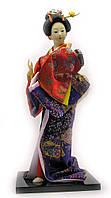 Кукла Японка фарфор (33х14,5х13,5 см)