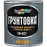 Грунт Kompozit ГФ-021 белый 0.9 кг