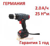 Аккумуляторный шуруповерт CRAFT CAS-18SL 2А/ч
