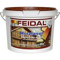 Лазурь Feidal Holzlasur белая 2.3 л