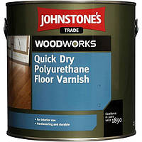Лак Johnstone's Quick Dry Polyurethane Floor Varnish Clear Gloss 5 л